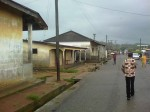 Bonyere, a sleepy town on the verge of major changes. Photo by Stephen Yeboah