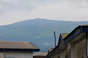 Mt. Cameroon, seen from Buea. Photo by Christiane Badgley