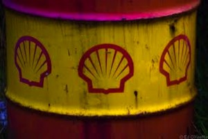 shell oil barrel